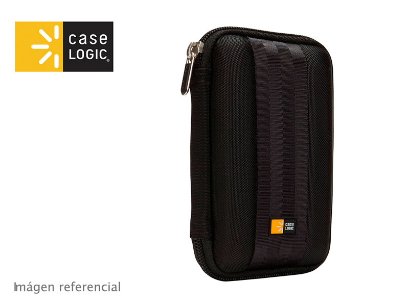 Estuche Case Logic para Disco Duro Externo (QHDC-101) Black