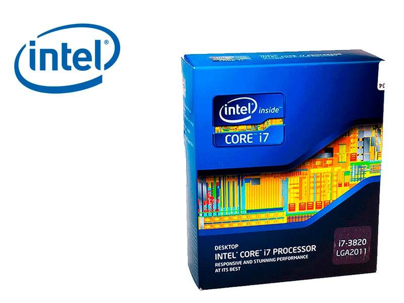 Procesador Intel Core i7-3820 3.6GHz 10MB LGA2011