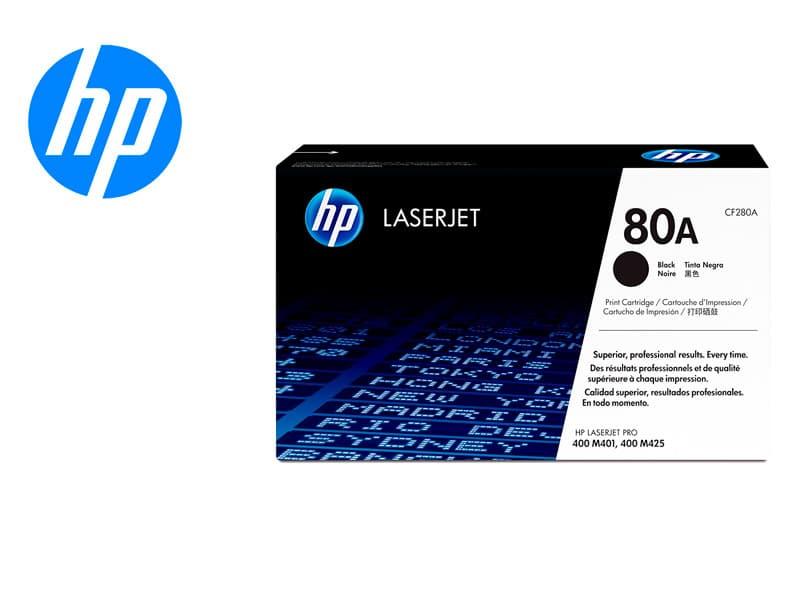 Toner HP 80A CF280A Negro M401dn/M425dn