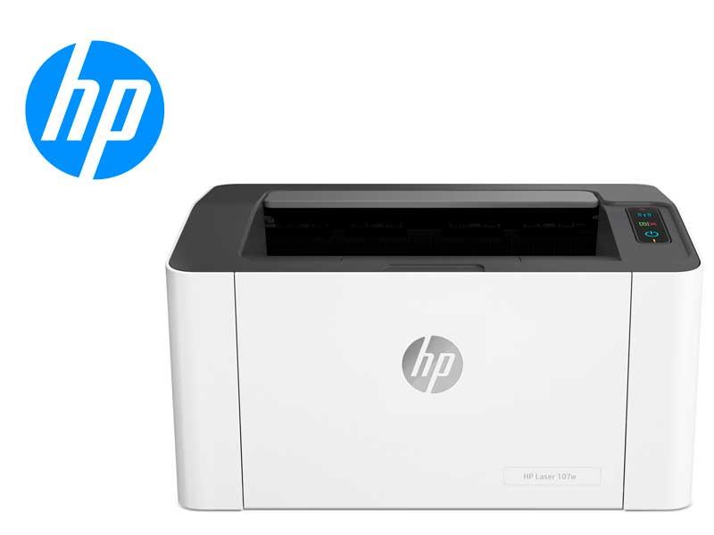 Impresora HP Laser 107w Monofuncion