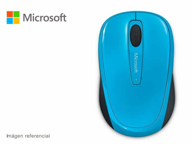 Mouse Microsoft Mobile 3500 Wireless Celeste