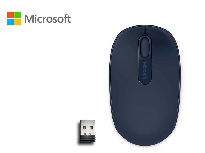 Mouse Microsoft Mobile 1850 Wireless  Wool Blue