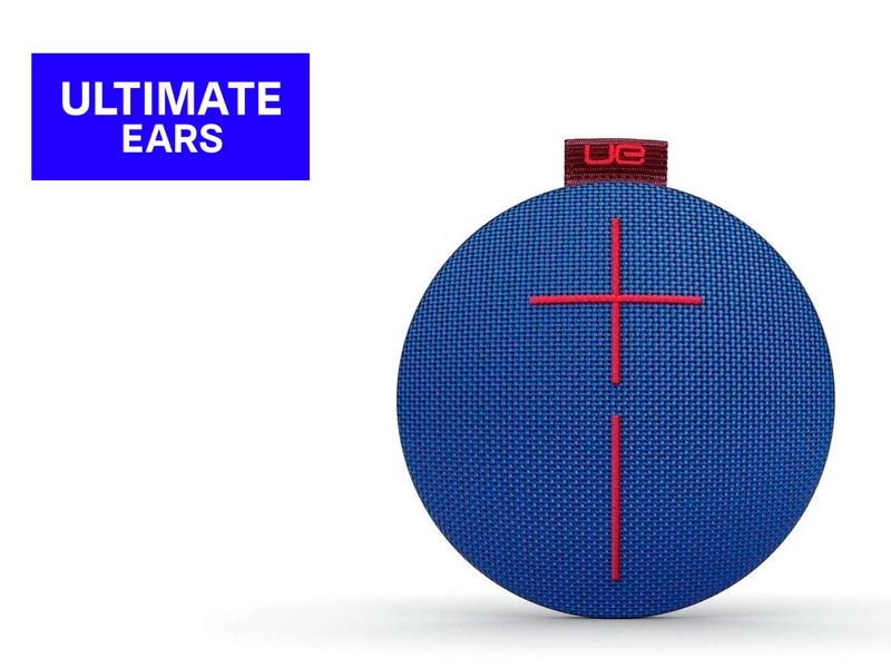 Parlante Ultimate Ears Roll Bluetooth Blue/Red