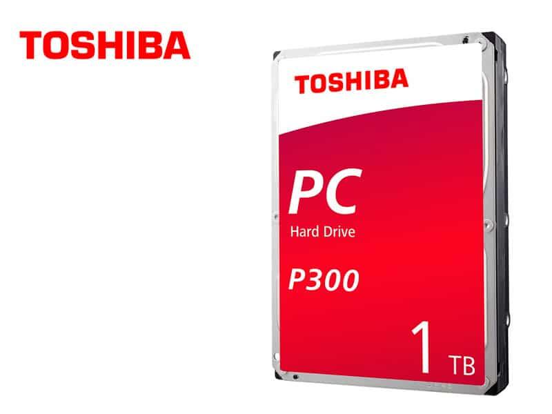 Disco Duro de 1TB Interno Toshiba P300 SATA 3.5″  PC