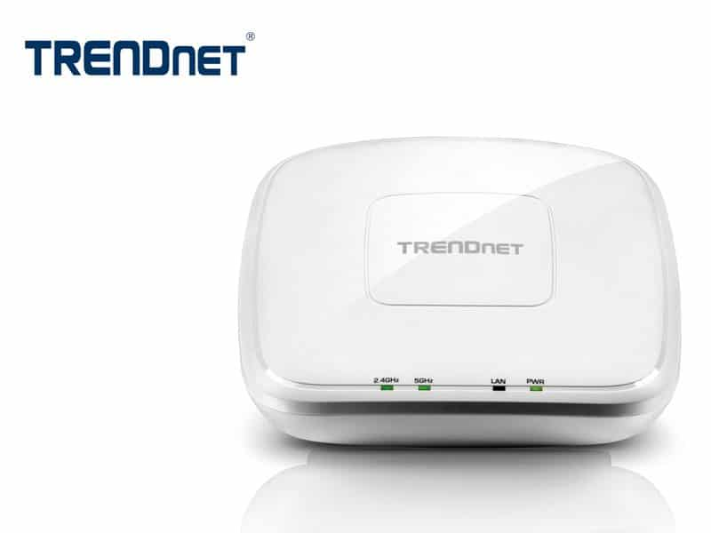 Access Point TRENDnet TEW-825DAP AC1750 Dual Band PoE Administrable