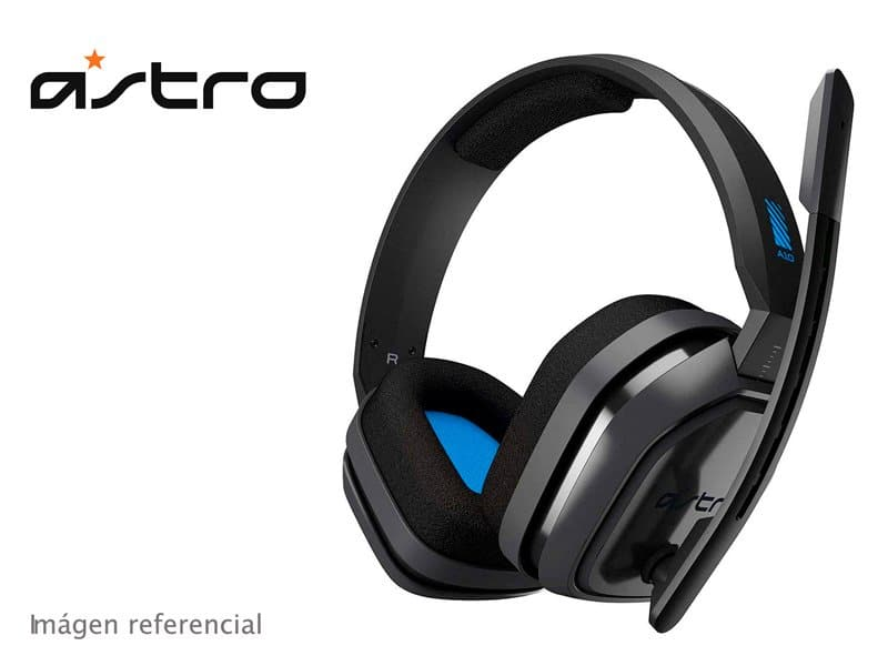 Audifono Gaming Astro A10 Gray/Blue