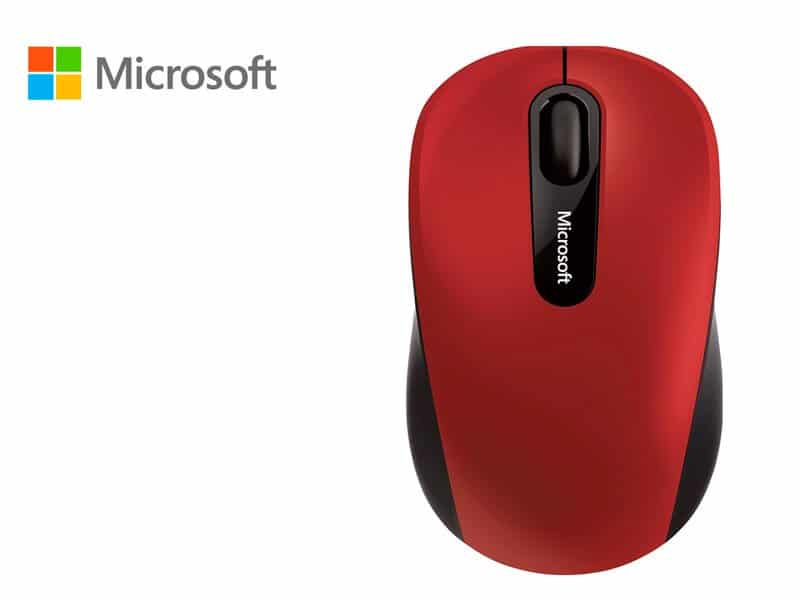 Mouse Microsoft Mobile 3600 Bluetooth Red
