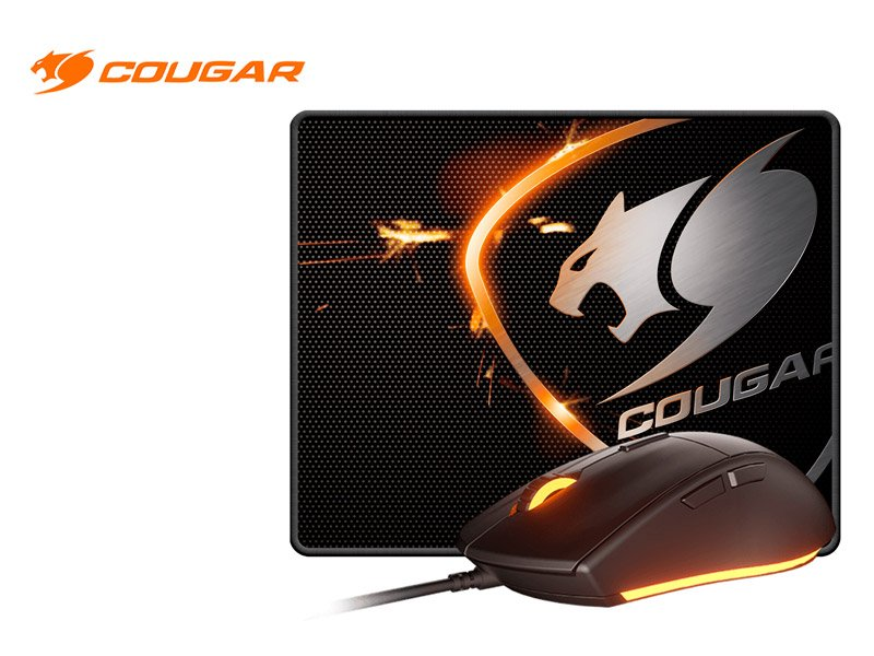 Combo Gaming Cougar Mouse + Mouse Pad MINOS XC (CGR-MINOS XC)