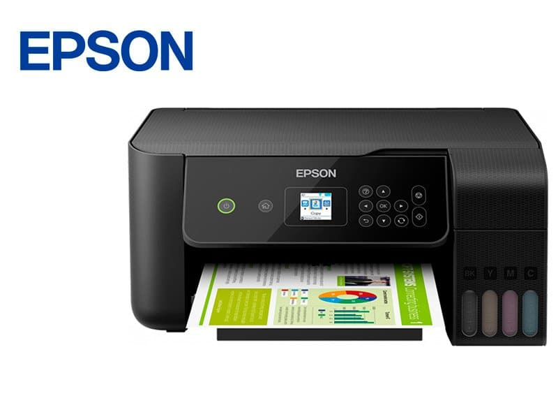 Impresora Multifuncional Epson EcoTank L3160 Sistema Continuo Wi-Fi