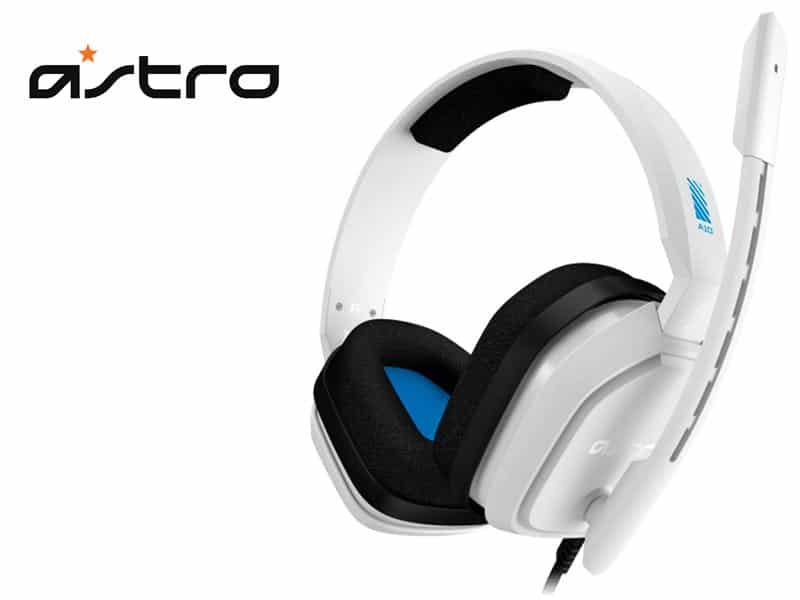 Audifono Gaming Astro A10 White/Blue