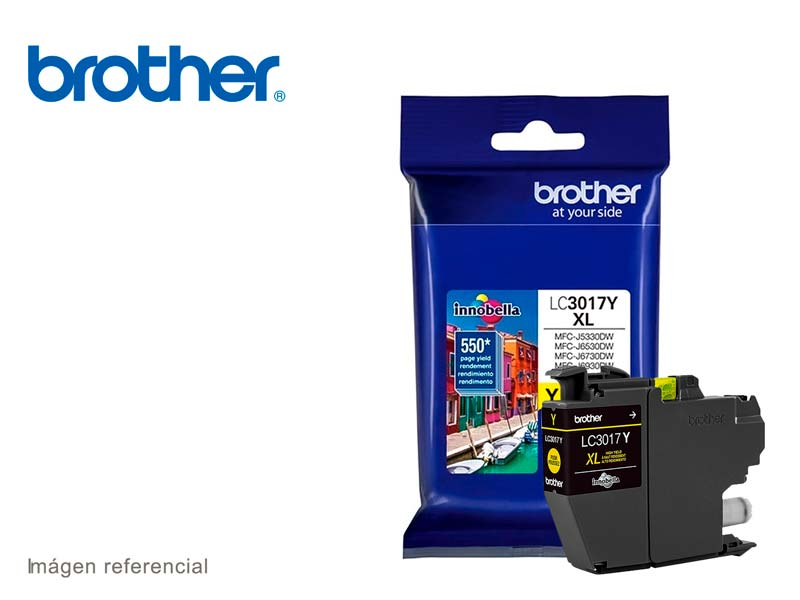 TINTA BROTHER LC-3017Y Yellow MFC-J533DW 550 Pgs
