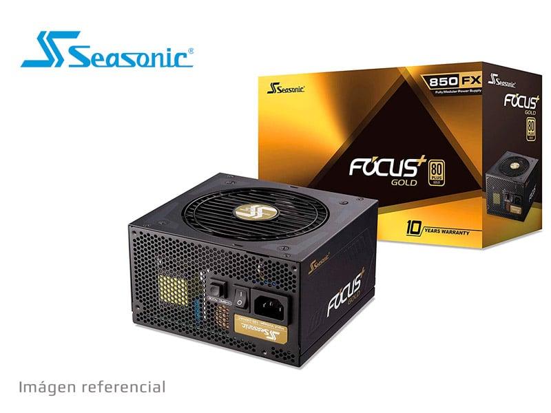Fuente Seasonic 850W FOCUS GM-850 80 Plus Gold Semi Modular