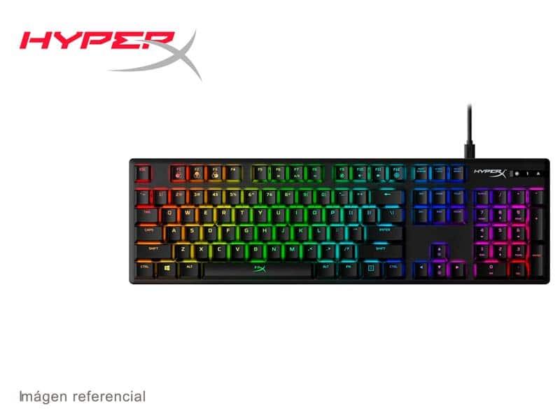 Teclado Gaming HyperX Alloy Origins (HX-KB6RDX-LA) Switch Red