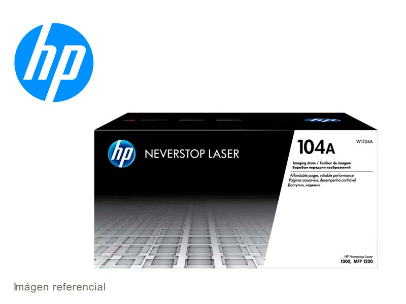DRUM HP W1104A (104A) P/NEVERSTOR 1200/1000 NEGRO