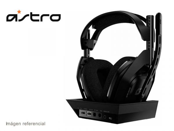 Audifono Gaming Astro A50 Wireless + Base Station para PS4/PC/Mac