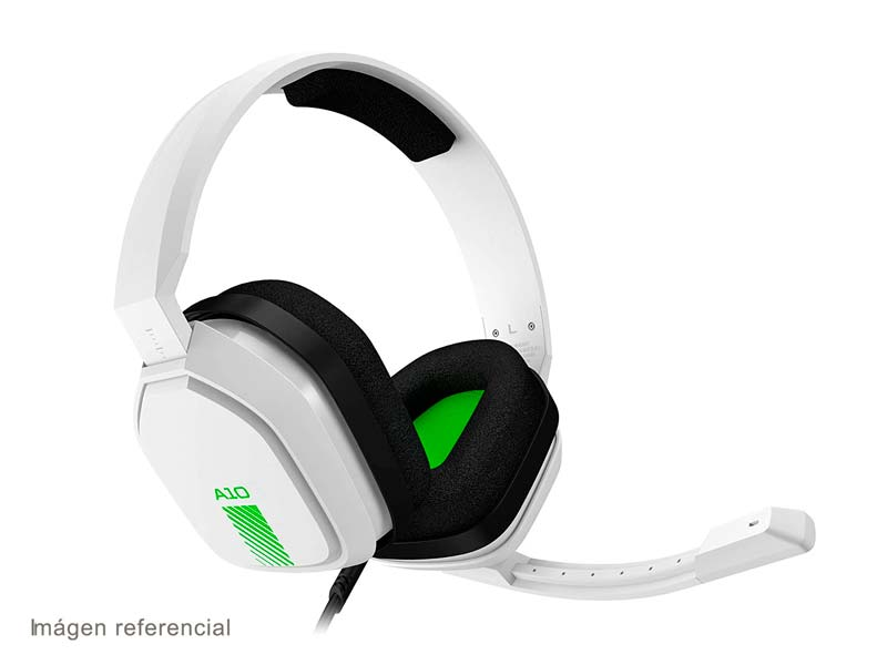 Audifono Gaming Astro A10 White/Green