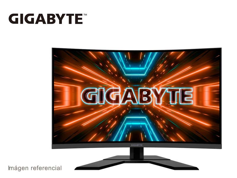 Monitor Gaming Gigabyte Aorus G32QC 31.5″ Curvo QHD HDR/1ms/IPS/165Hz