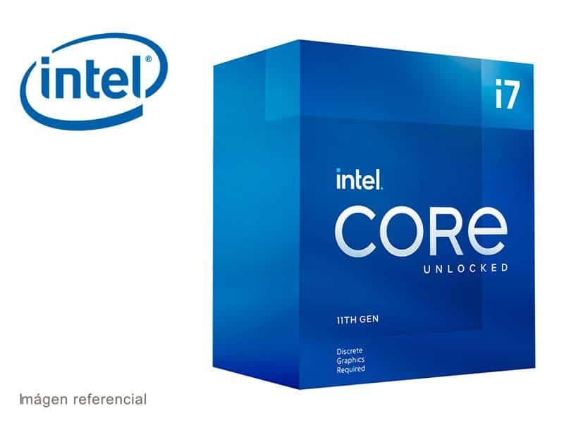 Procesador Intel Core i7-11700KF 3.6GHz 16MB Cache LGA1200