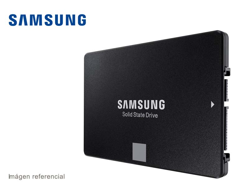 Disco Solido Interno de 250GB Samsung  SATA III SSD 2.5″