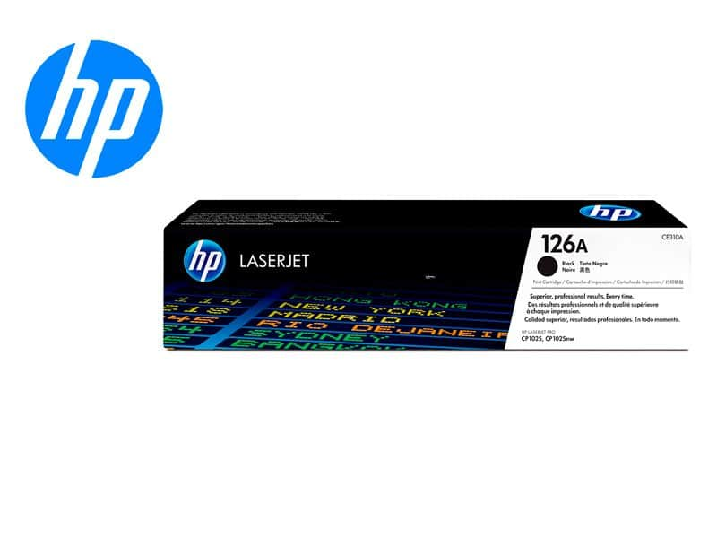 Toner HP 126A CE310A Negro CP1025nw/M175nw/M275nw