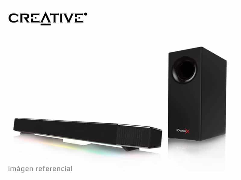 Parlante Gaming Creative Sound BlasterX Katana 7.1 RGB