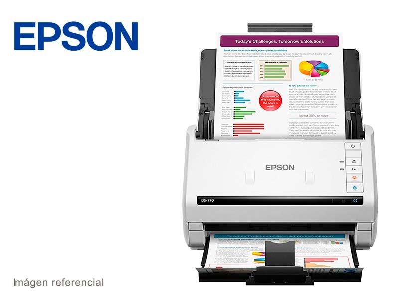 Escanner Epson WorkForce DS-770  ADF USB