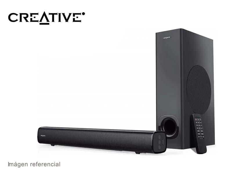 Parlante Creative Stage High Sound Bar 20W USB Black