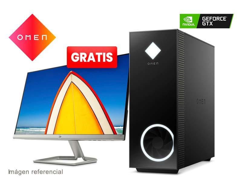 PC Desktop HP OMEN 30L GT13-0003LA Intel Core i7-10700k 8GB/SSD256GB/GTX1650 V4GB FreeDos