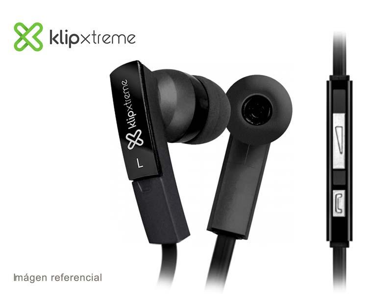 Audifono Microfono Klip Xtreme BeatBuds Black