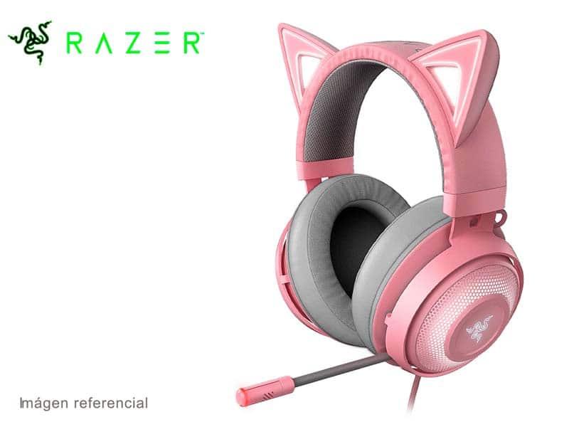Audifono Gaming Razer Kraken Kitty Blutooth Chroma Quartz