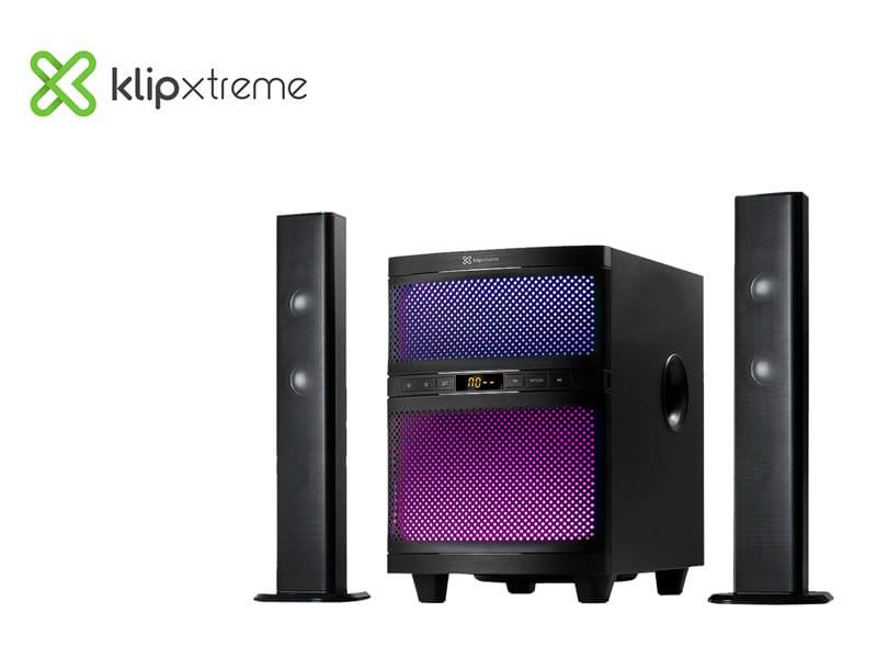 Parlante KLIP Xtreme Soundbar Bluetooth 2.1 160 watts RMS (KSB-250) Black