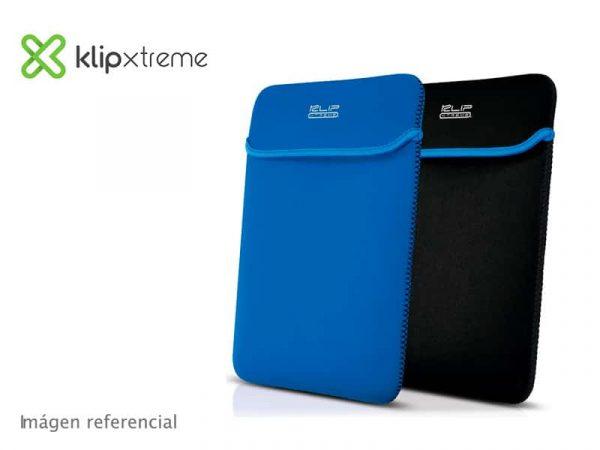 "FUNDA Klip Xtreme Sleeve Para Notebook 15.6"" reversible Black (KNS-415BL)"