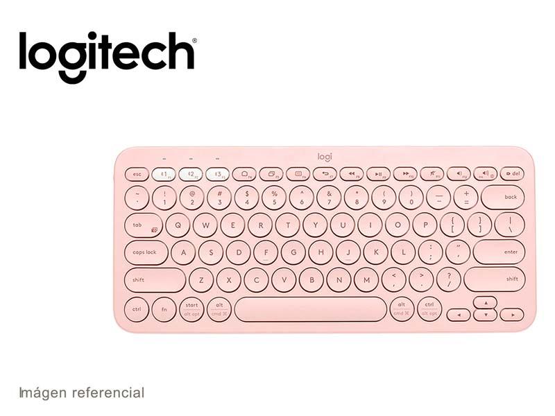 Teclado Logitech K380 Multi-Device Bluetooth Rose