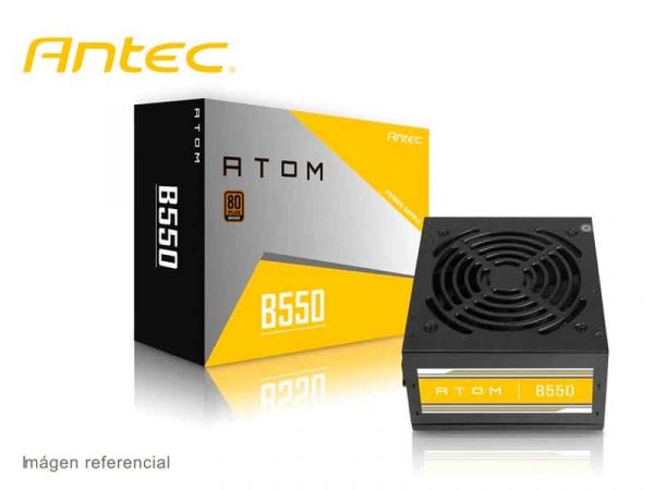Fuente Antec Atom 550W B550 80 Plus Bronce
