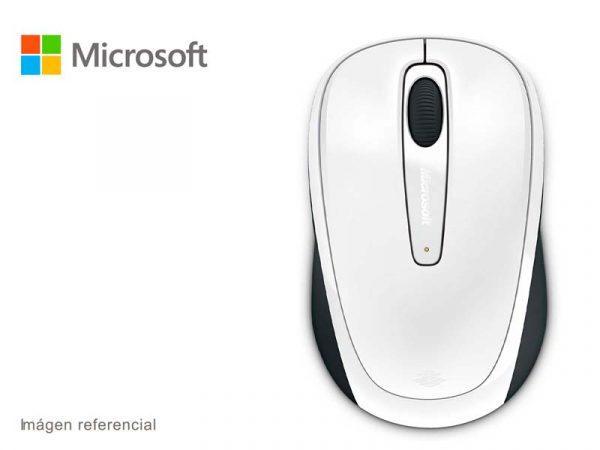 Mouse Microsoft Mobile 3500 Wireless Blanco