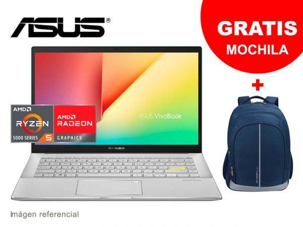 "Laptop ASUS VivoBook M433UA-EB046T Ryzen 5 5500U 8GB/SSD 512GB/14""/W10H Red"