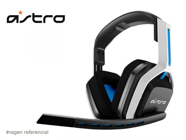 Audifono Gaming Astro A20 Wireless PS4/5 White/Blue
