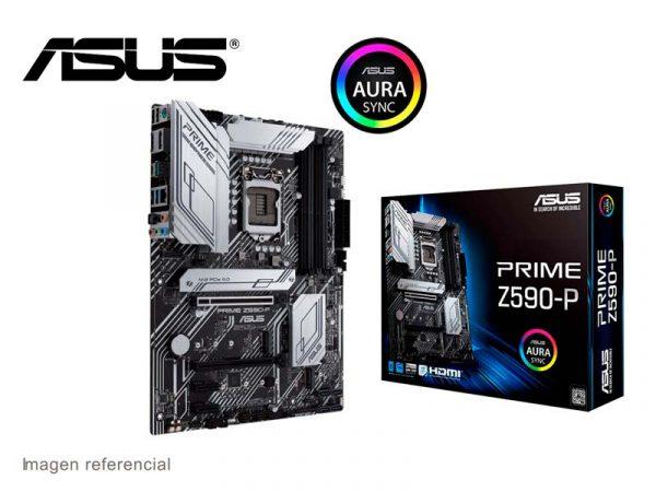 Placa ASUS Prime Z590-P Intel LGA1200 DDR4 USB 3.1 ATX