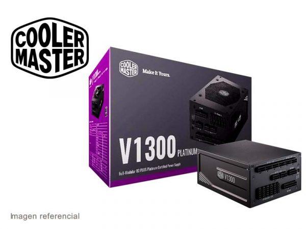 Fuente Cooler Master 1300W V1300 Platinum 80 Plus Bronze Modular