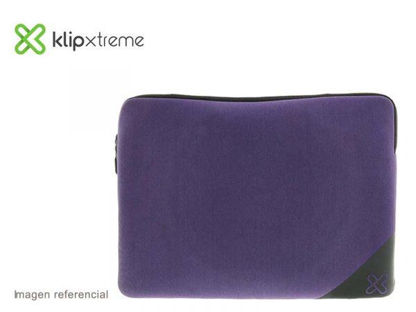 "Funda Klip Xtreme Sleeve para Laptop 15.6"" Purple (KNS-120PR)"