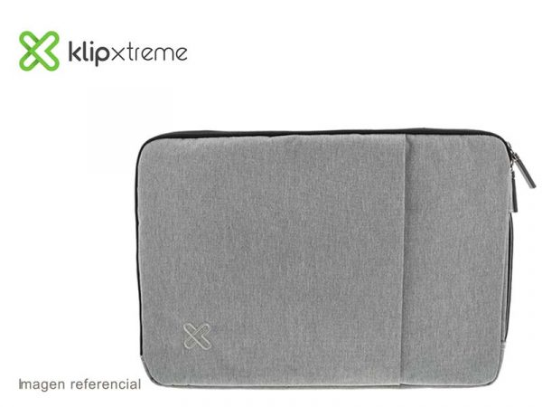 "Funda Klip Xtreme Sleeve para Laptop 15.6"" Silver (KNS-420SV)"