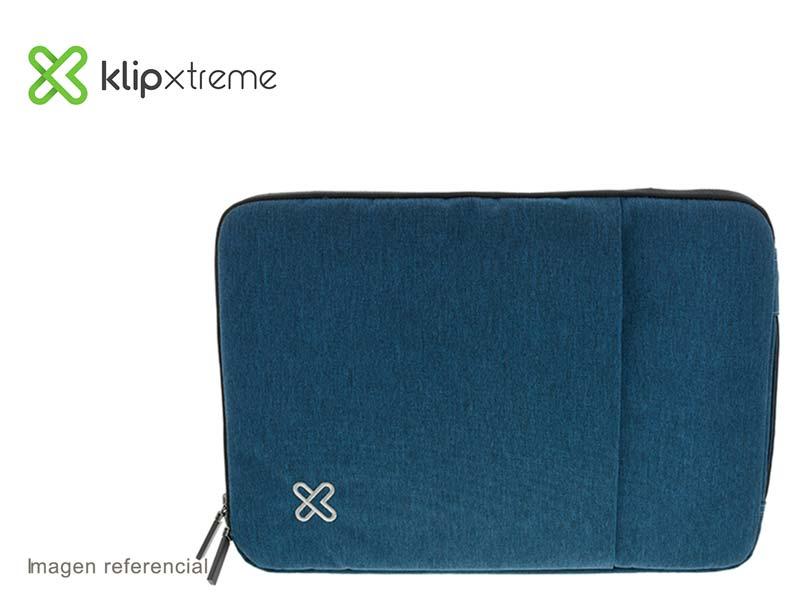 "Funda Klip Xtreme Sleeve para Laptop 15.6"" Blue (KNS-420BL)"