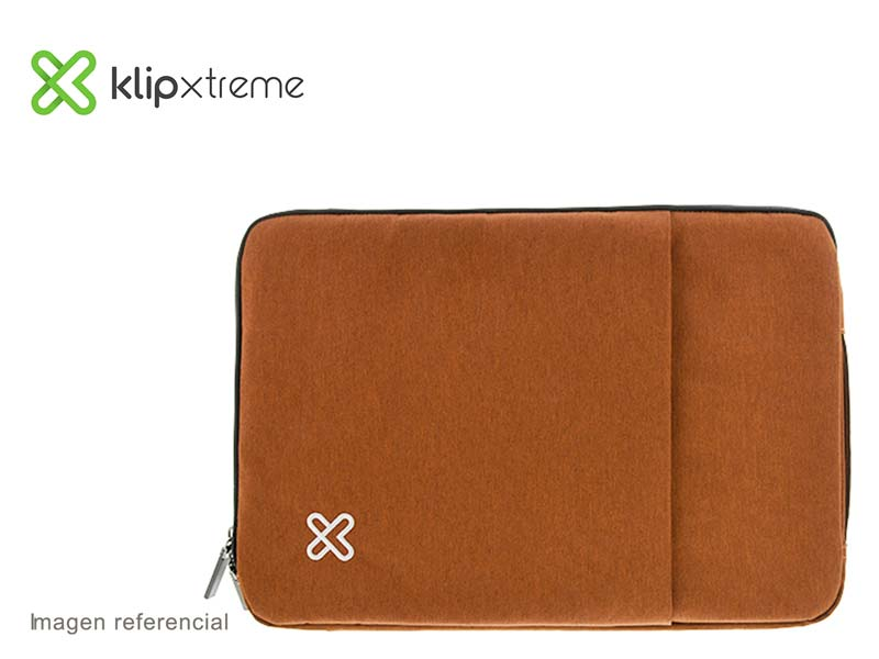 "Funda Klip Xtreme Sleeve para Laptop 15.6"" Brown (KNS-420BR)"