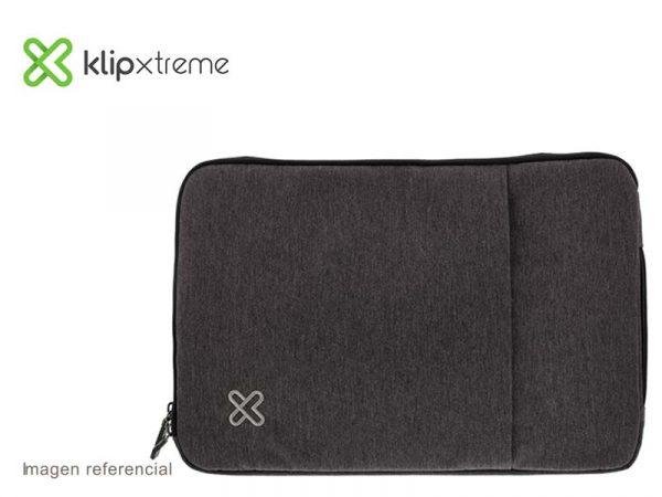 "Funda Klip Xtreme Sleeve para Laptop 15.6"" Gray (KNS-420GR)"