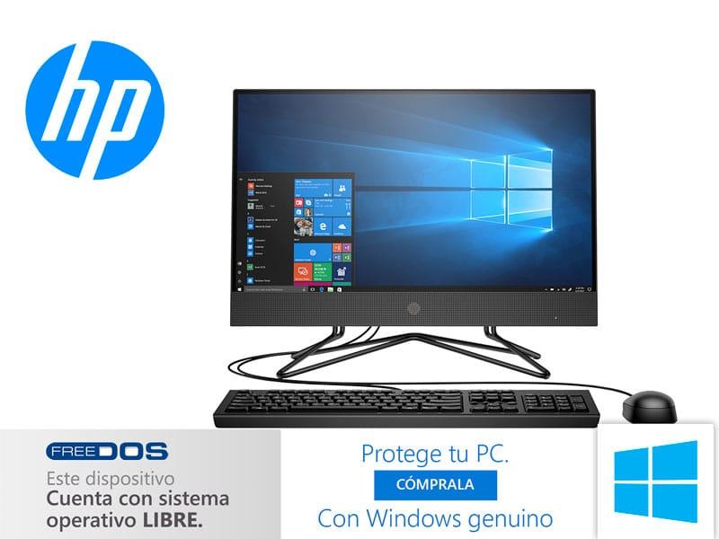 All In One HP 200 G4 Intel Core i3-10110U FreeDOS