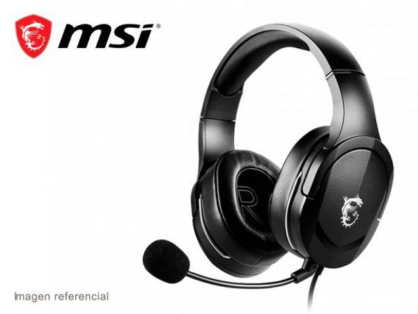 Audifono MSI INMMERSE GH20 Black
