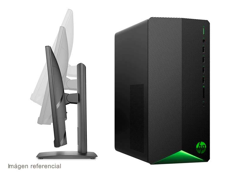 PC Desktop HP Pavilion Gaming TG01-104bla + Monitor HP 24f 23.8″