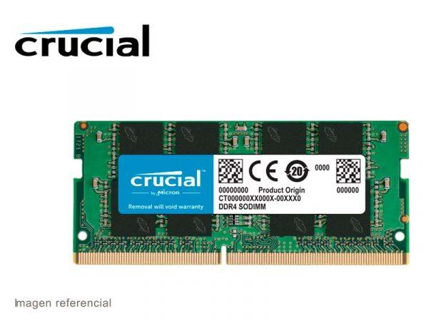 Memoria DDR4 Crucial 2666mhz 4GB SODIMM