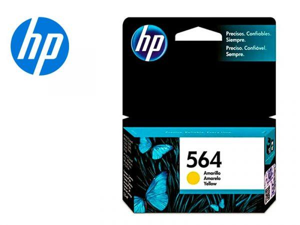 Cartucho de Tinta HP 564 Amarillo Original (CB320WL)