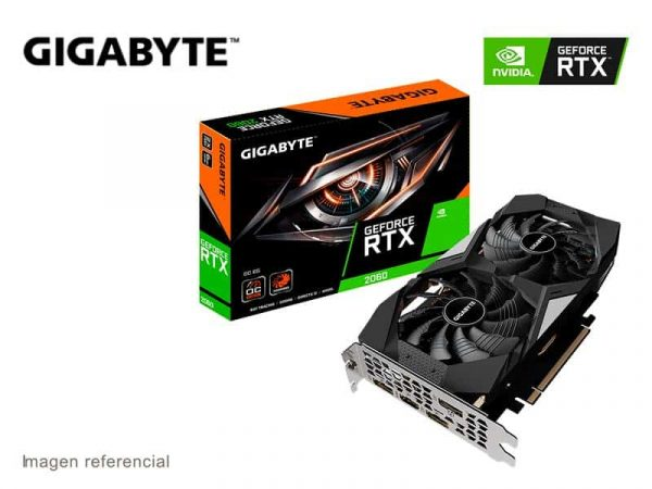 Tarjeta Grafica Gigabyte NVIDIA GeForce RTX 2060 OC